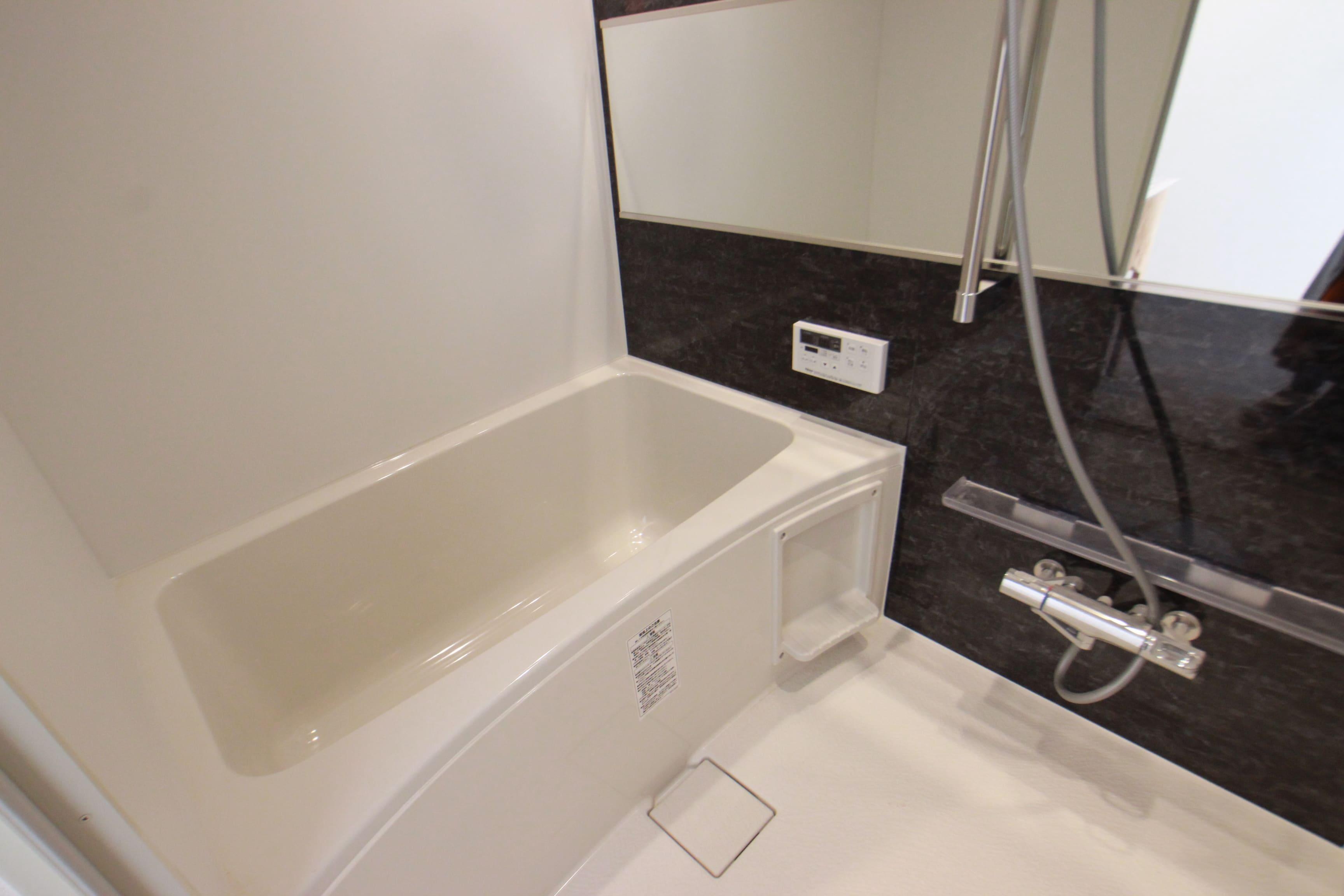 浴室は全室追い焚き付き(お風呂のタイプはお部屋によって異なります)