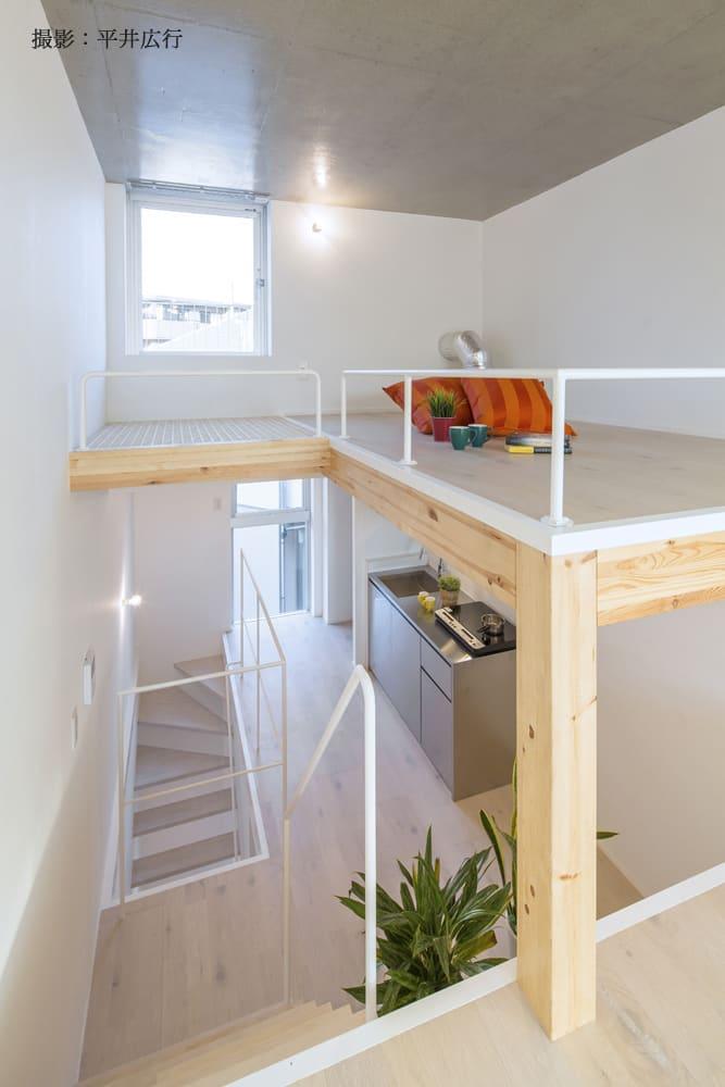 階段多めで、猫様もニンゲンも運動不足解消!