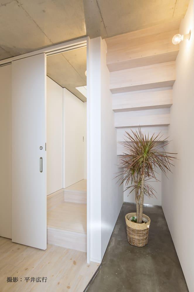 脱走防止扉(お部屋により位置、形状が異なります)