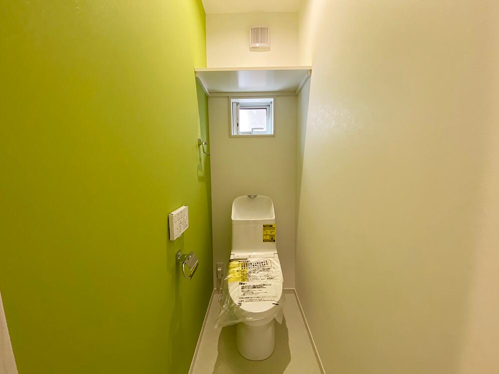 おトイレは2つあります