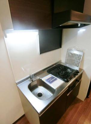 調理のしやすい大きさ♪2口コンロ付きシステムキッチン!