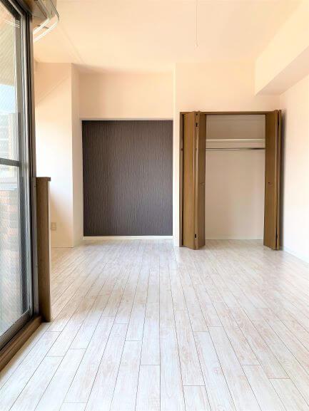 収納設備も付いているので、お部屋を広く使用できます!