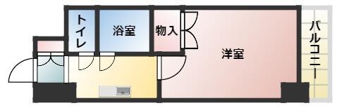 間取り図はこちら。 キッチンと部屋の間にドアもあるので安心度アップですにゃ!